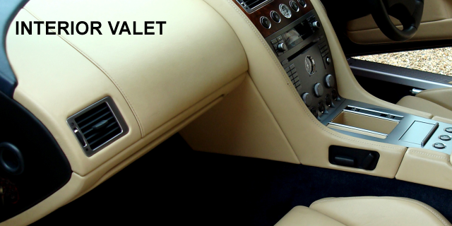Interior Valet (from £40)